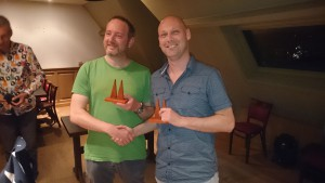 Bert Van Kerckhove (left) and Rogier van Gemert (right), winners of the Brugge 2016 Double Consultation, both on result and on PR.