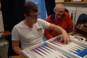 Grandmaster-to-be Christian Sörensen
